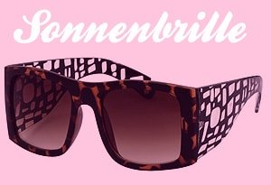 Sonnenbrille Retro Design