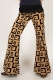 Comycom Star Cube single piece 70s pattern flared pant W30 L34