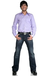 Bootcut jeans Star Burn dark blue 36/34