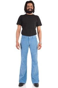 Corduroy bootcut pant light blue 34/36