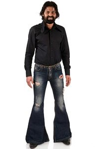 Destroyed Look Jeans weiter Schlag Star Bullet Ltd 36/34
