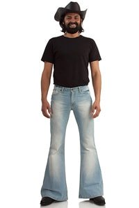 Herren Jeansschlaghose Star Bright super used